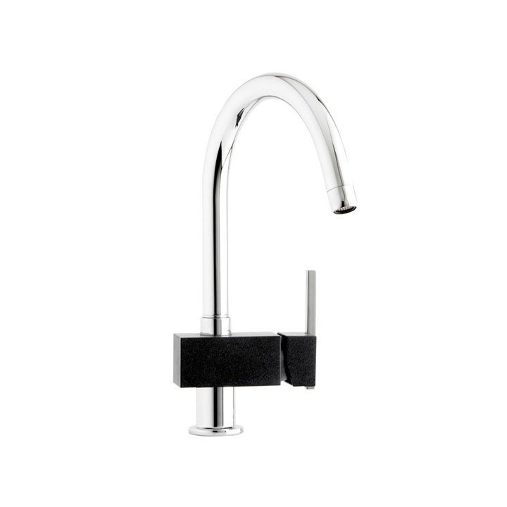 Astracast Tybers Volcano Black Chrome Tap Product Image